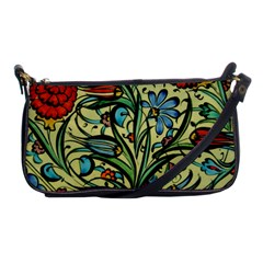 Mosaic Tile Art Ceramic Colorful Shoulder Clutch Bag by Pakrebo