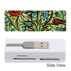 Mosaic Tile Art Ceramic Colorful Memory Card Reader (stick) by Pakrebo