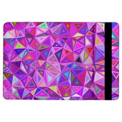 Pink Triangle Background Abstract Ipad Air 2 Flip