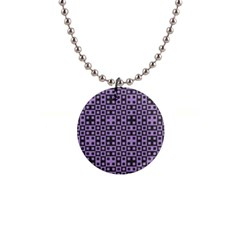 Crocus Petal Blocks  1  Button Necklace by TimelessFashion