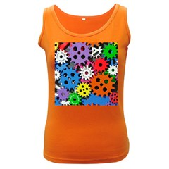 The Gears Are Turning Women s Dark Tank Top