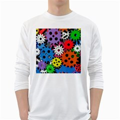 The Gears Are Turning Long Sleeve T Shirt