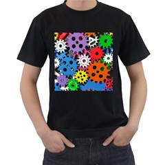 The Gears Are Turning Men s T Shirt (black)