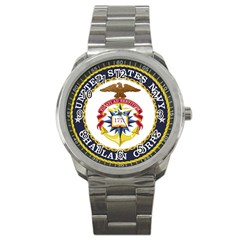 Seal Of United States Navy Chaplain Corps Sport Metal Watch by abbeyz71