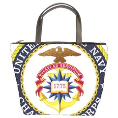 Seal Of United States Navy Chaplain Corps Bucket Bag by abbeyz71