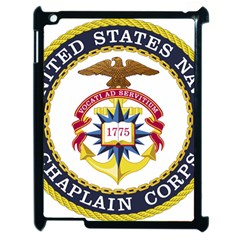 Seal Of United States Navy Chaplain Corps Apple Ipad 2 Case (black)