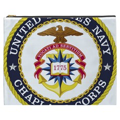 Seal Of United States Navy Chaplain Corps Cosmetic Bag (xxxl)