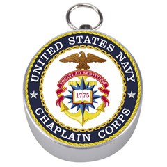 Seal Of United States Navy Chaplain Corps Silver Compasses by abbeyz71