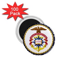 Seal Of United States Navy Chaplain Corps 1 75  Magnets (100 Pack)  by abbeyz71