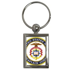 Seal Of United States Navy Chaplain Corps Key Chains (rectangle)  by abbeyz71