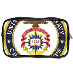 Seal Of United States Navy Chaplain Corps Toiletries Bag (two Sides)