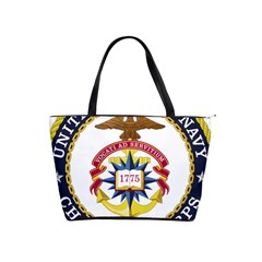 Seal Of United States Navy Chaplain Corps Classic Shoulder Handbag by abbeyz71