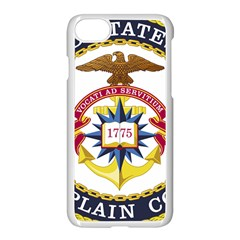 Seal Of United States Navy Chaplain Corps Apple Iphone 7 Seamless Case (white)