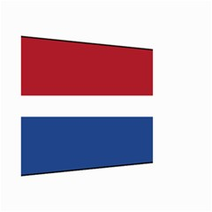 Royal Navy And Royal Netherlands Navy Church Pennant Small Garden Flag (two Sides)