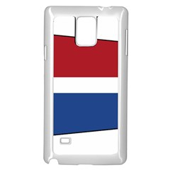Royal Navy And Royal Netherlands Navy Church Pennant Samsung Galaxy Note 4 Case (white) by abbeyz71