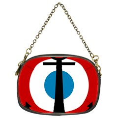 Roundel Of French Naval Aviation Chain Purse (one Side)