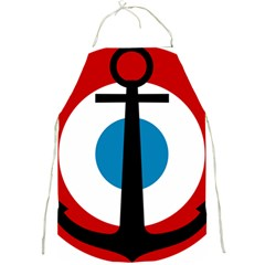 Roundel Of French Naval Aviation Full Print Aprons