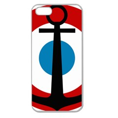 Roundel Of French Naval Aviation Apple Seamless Iphone 5 Case (clear)