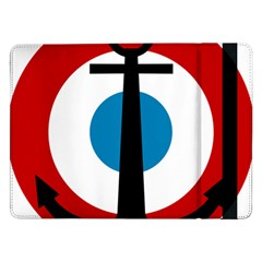 Roundel Of French Naval Aviation Samsung Galaxy Tab Pro 12 2  Flip Case