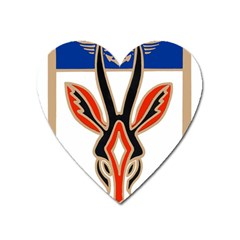 Squadron 21f Insignia Of French Naval Patrol And Maritime Surveillance Aviation Heart Magnet by abbeyz71