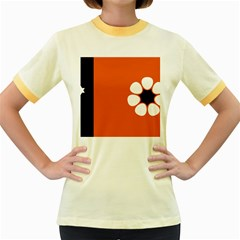 Flag Of Northern Territory Women s Fitted Ringer T Shirt by abbeyz71