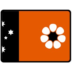 Flag Of Northern Territory Double Sided Fleece Blanket (large)