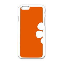 Flag Of Northern Territory Apple Iphone 6/6s White Enamel Case
