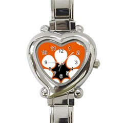 Flag Map Of Northern Territory Heart Italian Charm Watch