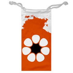 Flag Map Of Northern Territory Jewelry Bag