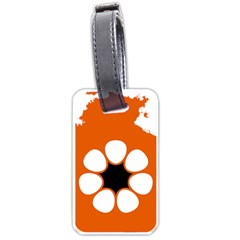 Flag Map Of Northern Territory Luggage Tags (one Side)