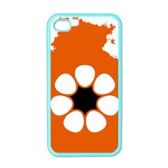 Flag Map Of Northern Territory Apple Iphone 4 Case (color) by abbeyz71