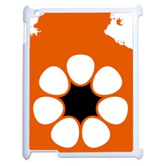 Flag Map Of Northern Territory Apple Ipad 2 Case (white)