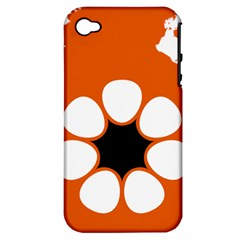 Flag Map Of Northern Territory Apple Iphone 4/4s Hardshell Case (pc+silicone)