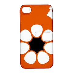 Flag Map Of Northern Territory Apple Iphone 4/4s Hardshell Case With Stand