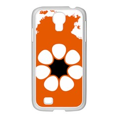 Flag Map Of Northern Territory Samsung Galaxy S4 I9500/ I9505 Case (white)