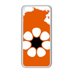 Flag Map Of Northern Territory Apple Iphone 5c Seamless Case (white) by abbeyz71