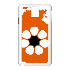 Flag Map Of Northern Territory Samsung Galaxy Note 3 N9005 Case (white)