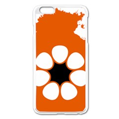 Flag Map Of Northern Territory Apple Iphone 6 Plus/6s Plus Enamel White Case