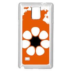 Flag Map Of Northern Territory Samsung Galaxy Note 4 Case (white)