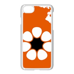 Flag Map Of Northern Territory Apple Iphone 8 Seamless Case (white) by abbeyz71