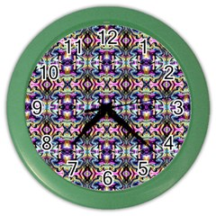 Ml 5 7 Color Wall Clock by ArtworkByPatrick