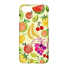 Seamless Pattern Fruit Apple Iphone 8 Hardshell Case by Mariart