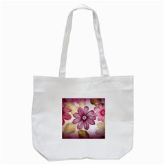 Star Flower Tote Bag (white)