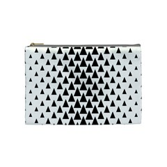 Triangle Forest Wood Tree Stylized Cosmetic Bag (medium)