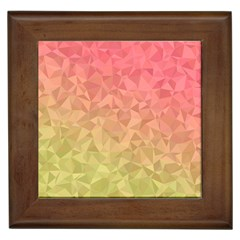 Triangle Polygon Framed Tiles