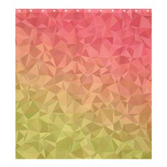 Triangle Polygon Shower Curtain 66  X 72  (large)  by Alisyart