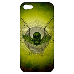 Awesome Creepy Skull With Wings Apple Iphone 5 Hardshell Case