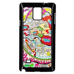 Supersonic Pyramid Protector Angels Samsung Galaxy Note 4 Case (black) by chellerayartisans