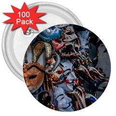 The Fools 3  Buttons (100 Pack)