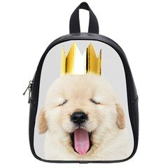 Royal Puppy Yawns School Bag (small) by WensdaiAddamns